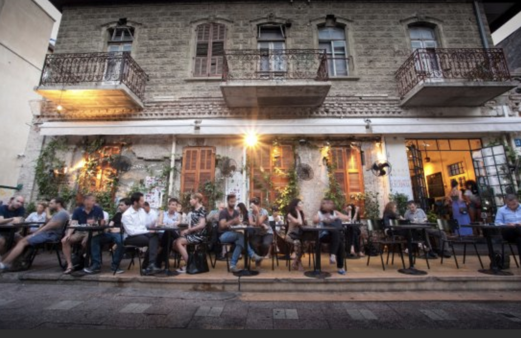 tel aviv's top 5 restaurant/bars - tel aveat